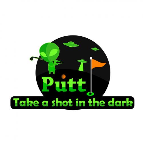 transparent putt logo